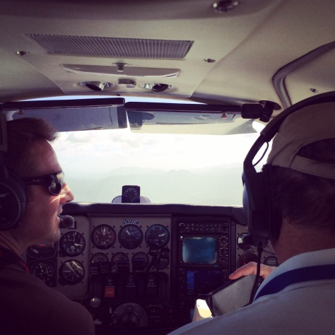 Our pilots, Jared and Gene