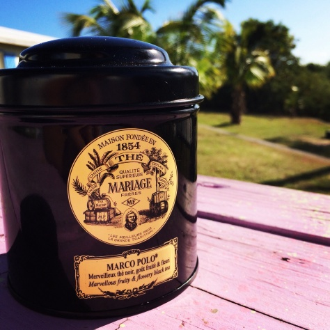 Mornings on Eleuthera started with tea from Susannah
