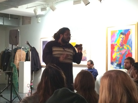 New Day Open Mic night at LeRoy Neiman Arts Center in Harlem